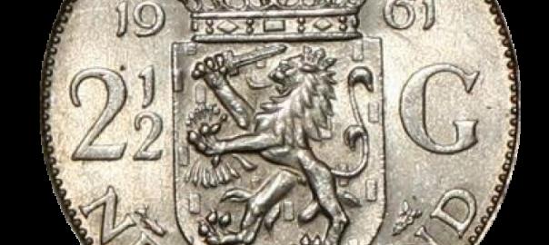 zilveren munt
